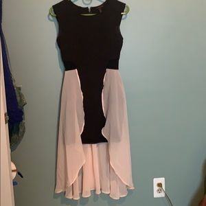 Body-Con dress with ballerina skirt